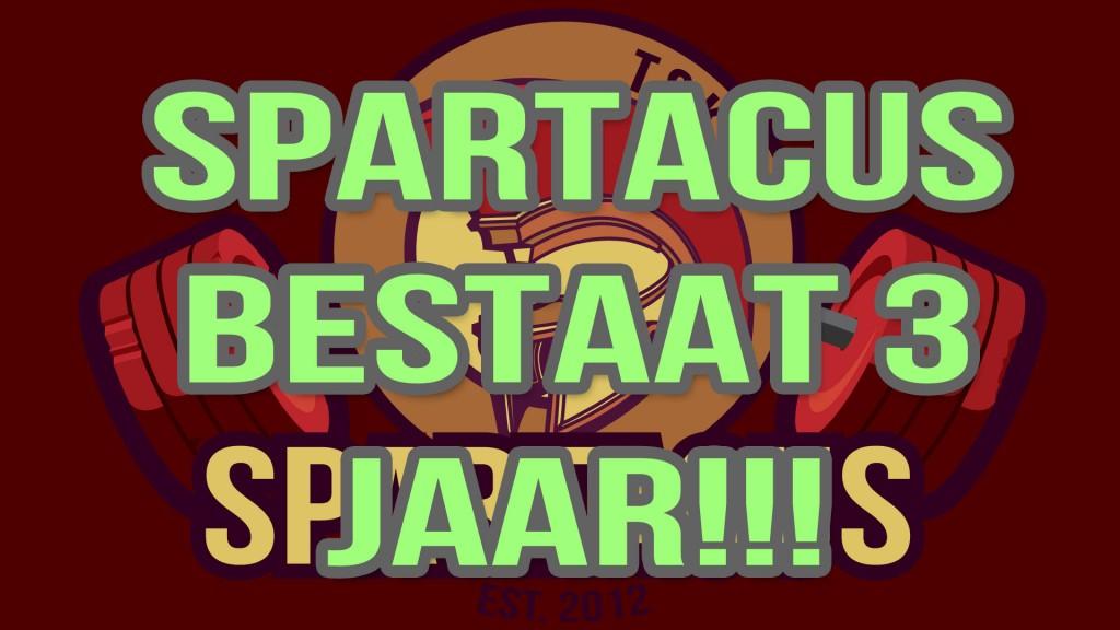 spartacus jarig borrel